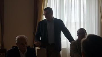 Pan Krzysztof Koszela podziękował za wybór na Prezesa Klastra